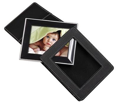 2.4 ` Portable Digital Photo Album with MP3 Player (Black)