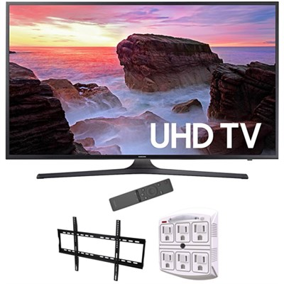 74.5-Inch 4K Ultra HD Smart LED TV 2017 Model with Wall Mount Bundle