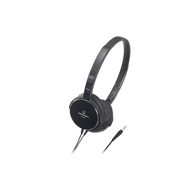 ATHES55BK On-Ear Headphones, Black