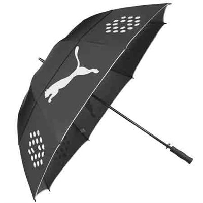 Golf Storm Performance Double Canopy Black Umbrella - PMGO3080