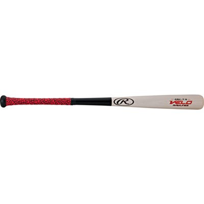 30` Youth Velo Ash Wood (-7.5) Baseball Bat w/ Ultrathin Tac Grip - Y62VG