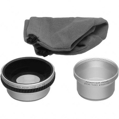ZWC-100 Lens Barrel and 0.75x Wide Angle Converter Lens f/ Dimage Z1 / Z2