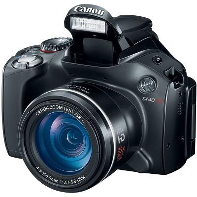 Powershot SX40 HS 35x Zoom 12.1 MP Digital Camera w/ 2.7` Vari-Angle LCD