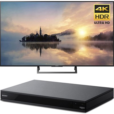 55` Class (54.6` diag) 4K HDR Ultra HD TV + Blu-Ray Player with Hi Res