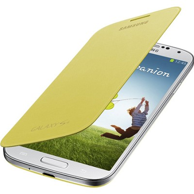 Galaxy S IV Flip Cover Yellow