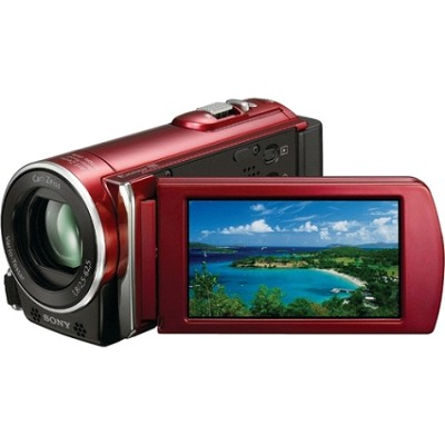 HDR-CX150 Handycam HD Camcorder (Red) - REFURBISHED