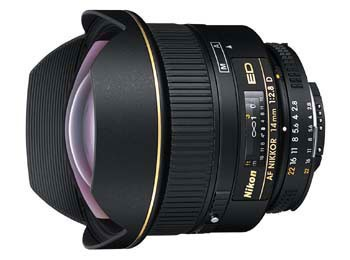 14mm F/2.8D ED AF Nikkor Wide Angle Lens with Nikon 5-Year USA Warranty