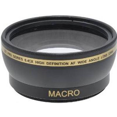 Pro .45x Wide Angle Lens w/ Macro 52mm threading (Black)