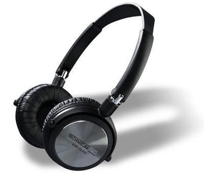 HP220 Professional Headphones Black