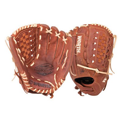 Fastpitch Softball Century Series 12.5-inch Softball Glove (Right-Hand Throw)