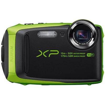 FinePix XP90 16 MP Waterproof Digital Camera with 3-inch LCD - Green