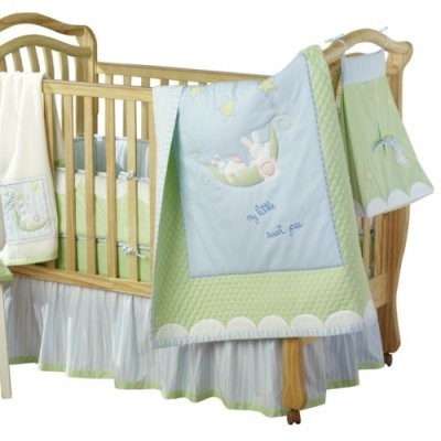 Sweet Pea Crib Set - 4 piece