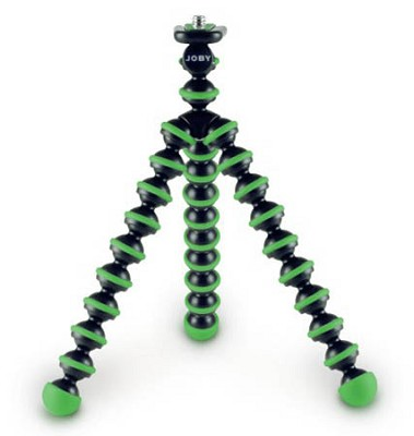 Gorillapod Mini Tripod/Grip For Compact Digital Cameras - Green/Black