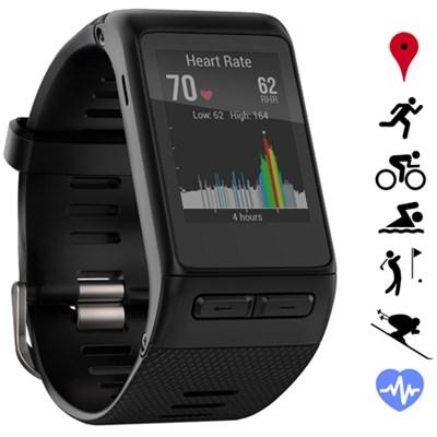 vivoactive HR GPS Smartwatch - Regular Fit - Black - Certified Refurbished