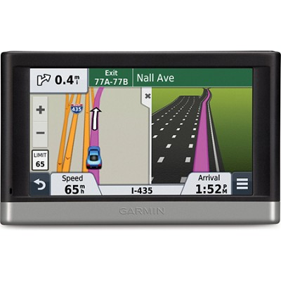 nuvi 2497LMT 4.3` GPS Navigation System with Lifetime Maps and Traffic Updates