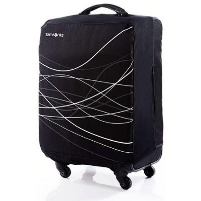 Foldable Luggage Cover, Medium - Black