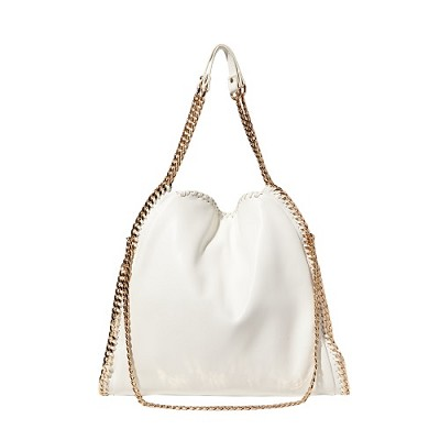 Totally ChainTote Bag Tote Bag (White)