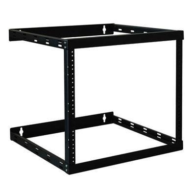 SmartRack Wall Mount 2-Post Open Frame Rack Cabinet - SRWO8U22