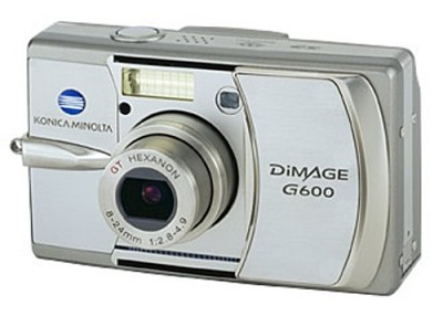 Dimage G600 Digital Camera