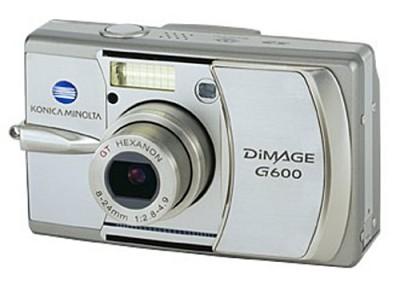 Dimage G600 Digital Camera
