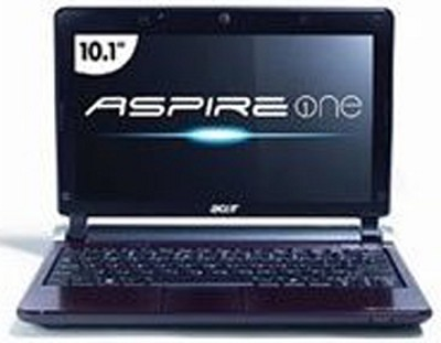 Aspire One AO532G-2490 10.1` Netbook (Blue)