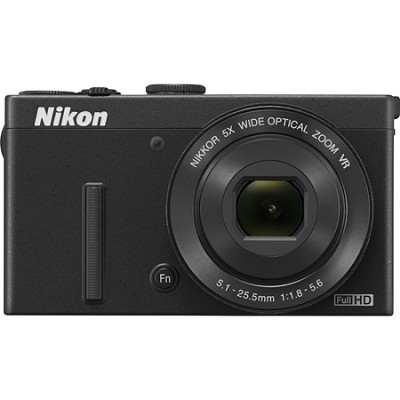 COOLPIX P340 12.2MP 1080p HD Video 5x Zoom Digital Camera - Black