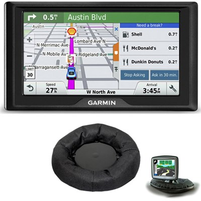 Drive 50LM GPS Navigator Lifetime Maps (US) 010-01532-0C Dashboard Mount Bundle