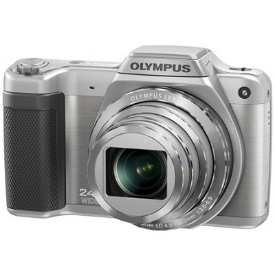 STYLUS SZ-15 16MP 24x SR Zoom 3-inch Hi-Res LCD - Silver - OPEN BOX