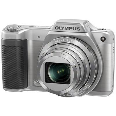 STYLUS SZ-15 16MP 24x SR Zoom 3-inch Hi-Res LCD - Silver - OPEN BOX