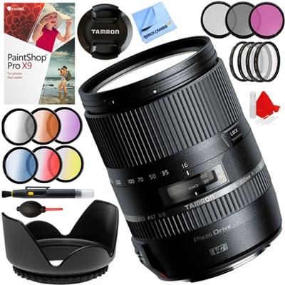 16-300mm f/3.5-6.3 Di II VC PZD MACRO Lens for Canon EF-S + 67mm Kit