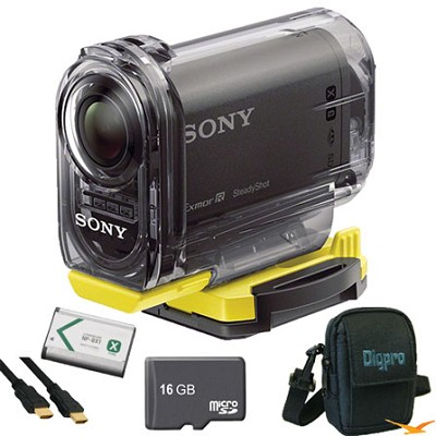 HDR-AS10/B Compact POV HD Action Camera Ultimate Bundle