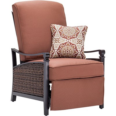 Carson Recliner in Bordeaux - CARSON-RED