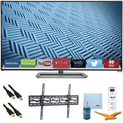 M422i-B1 - 42` Ultra-Slim LED 1080p 240Hz Smart HDTV Tilt Mount & Hook-Up Bundle