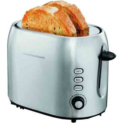2 Slice Metal Toaster