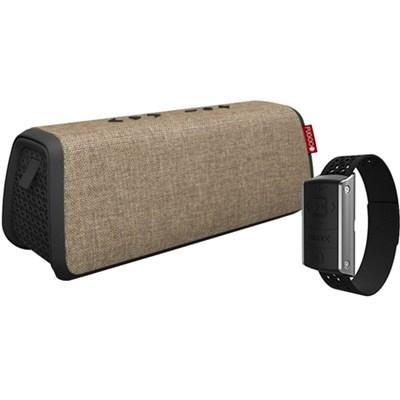 Style XL Portable Waterproof Speaker w/ Bluetooth + Remote Control