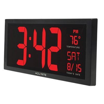 AcuRite Digit 14.5` Clock