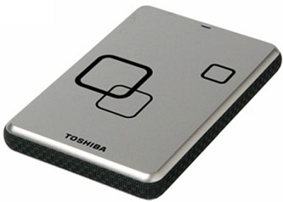 DS TS Canvio HD 750GB USB 2.0 Portable External Hard Drive - Satin Silver