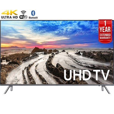 74.5` 4K Ultra HD Smart LED TV (2017)+1 Year Extended Warranty-Refurbished