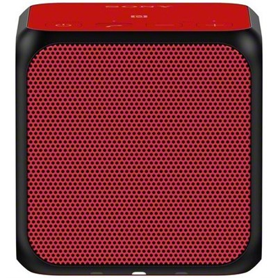 SRS-X11 Ultra-Portable Bluetooth Speaker - Red - OPEN BOX