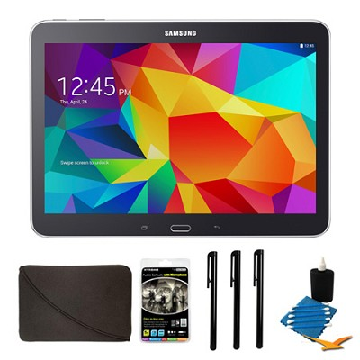 Galaxy Tab 4 Black 16GB 10.1` Tablet and Case Bundle