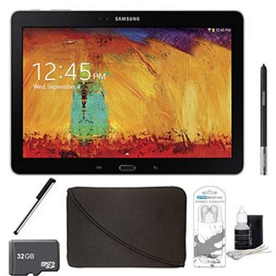 Galaxy Note 10.1 - 2014 Edition (16GB, WiFi, Black) 32GB Accessory Bundle