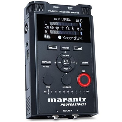 Professional PMD-561 Handheld 4-Channel Audio Recorder