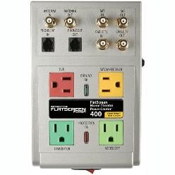 Flatscreen PowerCenter HTS 400 with Clean Power Stage 1 v.2.0 Surge supp
