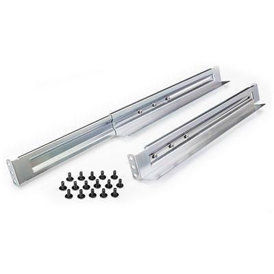 1U to 2U 4-Post Universal Rack Mount Rail Kit - 4POSTRAIL