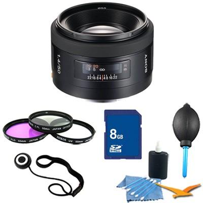 SAL50F14 - 50mm f/1.4 Standard Lens Essentials Kit