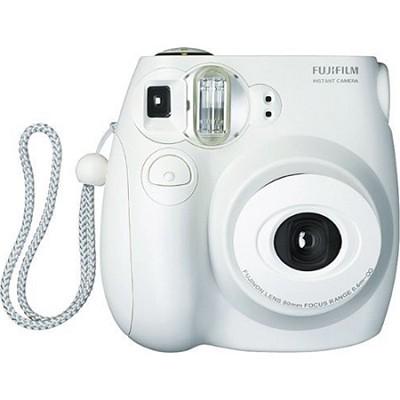instax mini 7S Instant Print Camera (White)