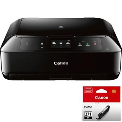 PIXMA MG7720 Wireless Inkjet All-In-One Printer w/ CLI-271 Black Ink Bundle