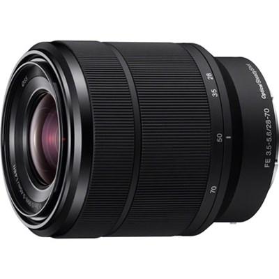 SEL2870 FE 28-70mm F3.5-5.6 OSS Full Frame E-Mount Lens - OPEN BOX