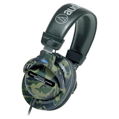 ATH-PRO5MSA Camouflage Closed-back Dynamic Stereo Monitor Headphones
