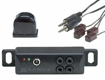 All-In-One IR Repeater - Conceal Components Behind Closed Doors - ELM501
